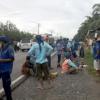 Buruh Peserta Aksi 'Long March Medan-Jakarta' Sudah Sampai di Labura