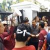 Sempat Disetrap, Anggota DPRD Sumut 'Selamat' Setelah Ajak Pendemo Sholat
