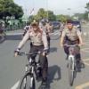 Kapolres Binjai Galakkan Patroli Bersepeda