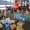 JR Saragih Pimpin Rapat Persiapan HUT Diatas Kapal Danau Toba