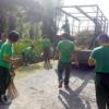 Anggota Korem 022/PT Gelar Gotong Royong dan Jumat Bersih