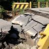 Jembatan Binjai yang Ambruk Mulai Diperbaiki