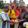 Mantan Ketua PSSI Buka Ujicoba Laga Sepakbola Antar Sekolah di Langkat