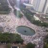 Jutaan Umat Islam Indonesia Telah Bersatu Dalam Gerakan Masif, Tak Pernah Disangka